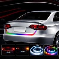 120cm Floating Strip 12V Car Warning Light Rear Light Tail DRL Flexible Led Light Bar Daytime
