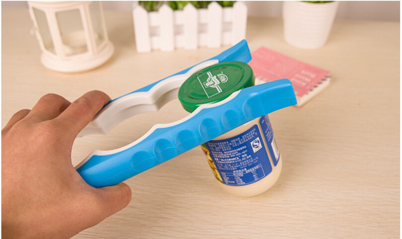 200 PCS 4 In 1 Creative Multifunction Gourd-shaped Can Opener Screw Cap Jar Bottle Wrench Kitchen Tool