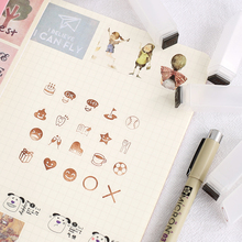 Hand account DIY small icon stamps pattern version hand account personality decorative icon postmark photosensitive stamps