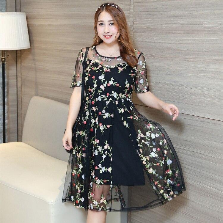 """""""230 £"""" moterų plius dydžio siuvinėjimo vakarėlių suknelės - Moteriški drabužiai - Nuotrauka 3"""