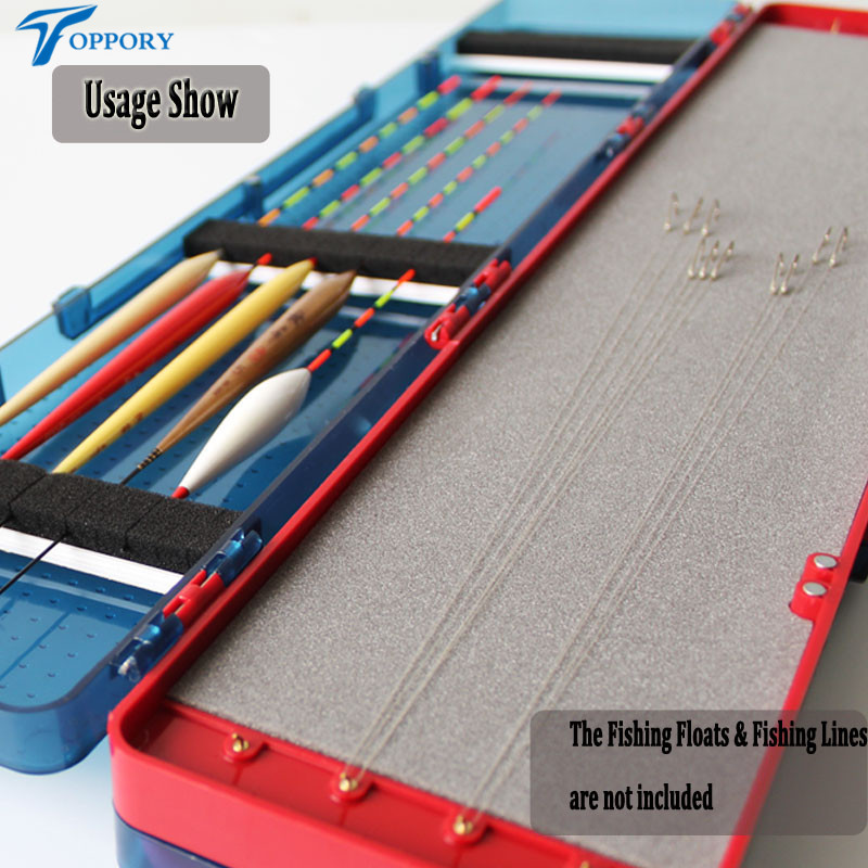 Multifunctional Fishing Tackle Box 3 Layers Herabuna Taiwan Fishing Line Box Fishing Float Bobber Buoy Storage Case Hook Box