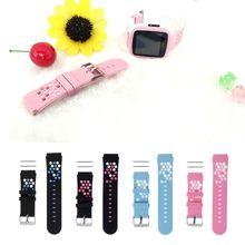 Per bambini Intelligente Wristband di Ricambio In Silicone Cinturino Da Polso Per Bambini Orologio Intelligente
