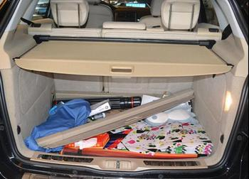 Car Rear Trunk Security Shield Shade black Beige tonneau cover cargo cover for ML350