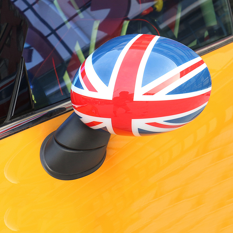 Car Styling Door Rear View Mirror Cover Housing Shell Sticker For Mini Cooper One S JCW
