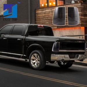 Image 1 - For 2009 2018 Dodge Ram 1500 2500 3500 LED Tube Tail Lights Black Smoke Brake Lamps