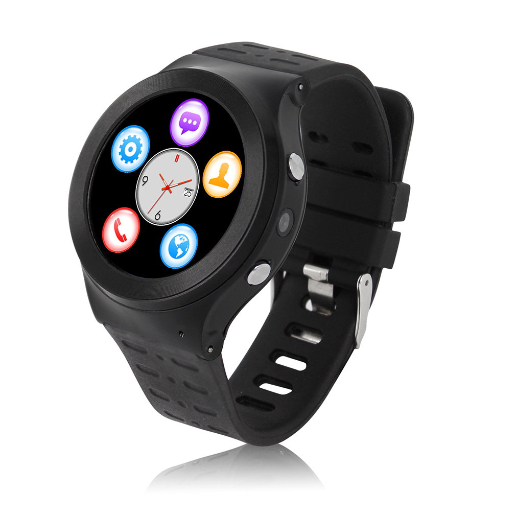 S99 GSM 3G Quad Core Android&IOS Smart Watch With 5.0 MP Camera GPS WiFi Bluetooth Phone V4.0 Pedometer Heart RateBracelet 2018 kiccy s2 gsm smart watch phone w 1 54 capacitive screen quad band and bluetooth black