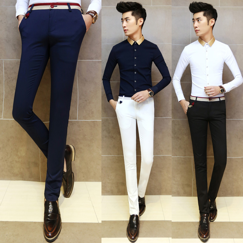Popular Male Slim Dress Pants-Buy Cheap Male Slim Dress Pants lots ...