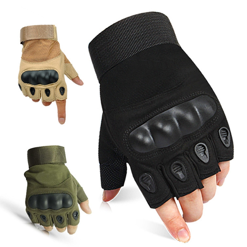 Half Finger Tactical Gloves Military Airsoft Hunting Assault Combat Tactical Gloves цена 2017