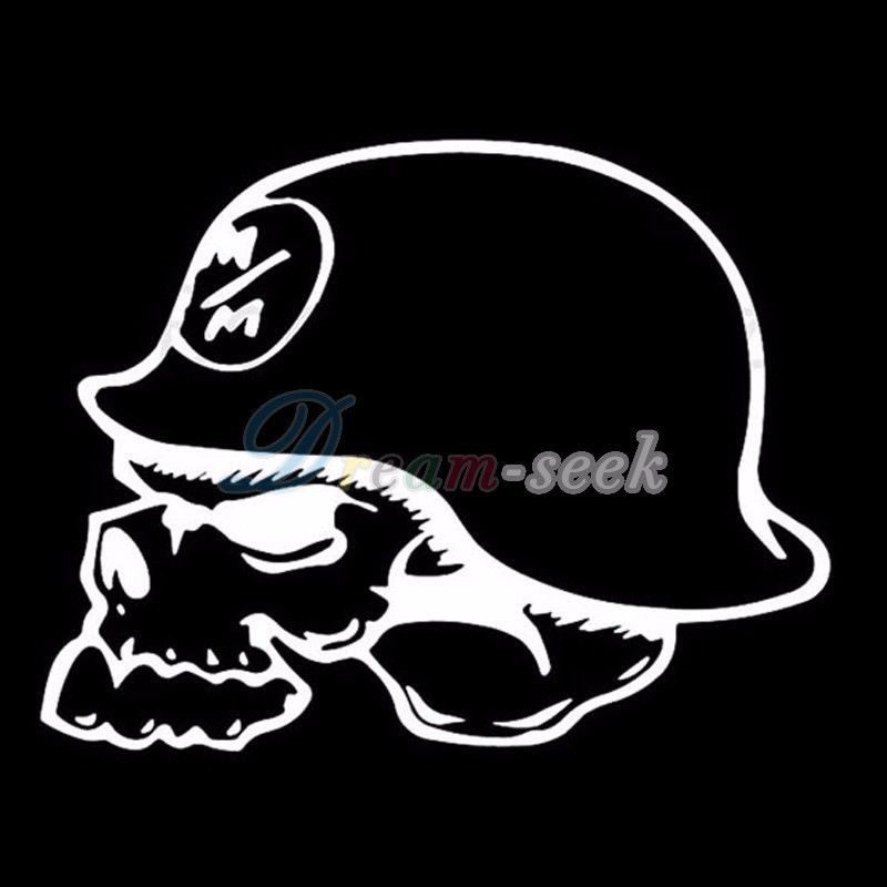 Funny Metal Mulisha Style Vinyl Removable Car Window Decal Sticker
