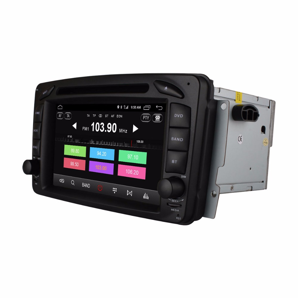 Ownice GPS DVD font b Multimedia b font for W463 G320 G500 G55 AMG W210 E200