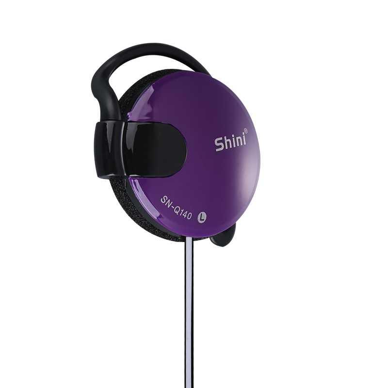 Esportes fones de ouvido estéreo 3.5mm fone de ouvido gancho baixo fone para mp3 computador telefone móvel para xiaomi iphone samsung