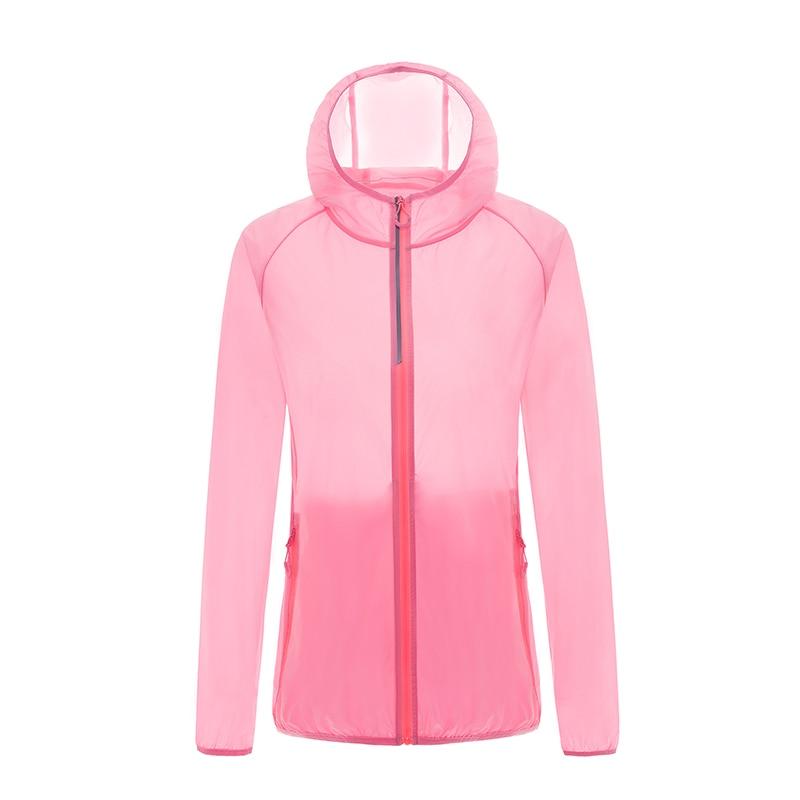 Кожаная одежда для женщин, Ультралегкая спортивная куртка, летняя Солнцезащитная одежда с защитой от ультрафиолета, верхняя одежда, новые куртки с капюшоном для бега и бега, женские куртки