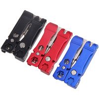 19 In 1 Portable Bike Cycling Bicycle Multi Repair Tools Kit Hex Key Foldable Multifunction Tools