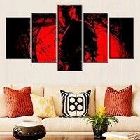 2017 Горячие стены украшения Unframed роспись стены Книги по искусству холст картины для Гостиная картина современного дома картина без рамы
