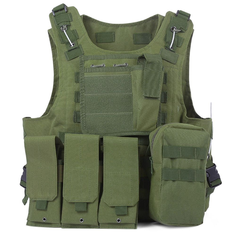 5 couleurs CS extérieur Jungle équipement Camouflage chasse militaire tactique gilet Wargame corps Molle armure chasse gilet de sauvetage 30