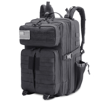 Outdoor 45L Military Rucksacks Tactical Backpack Assault Pack Army Molle Bug Out Bag Trekking Hiking Hunting Backpacks