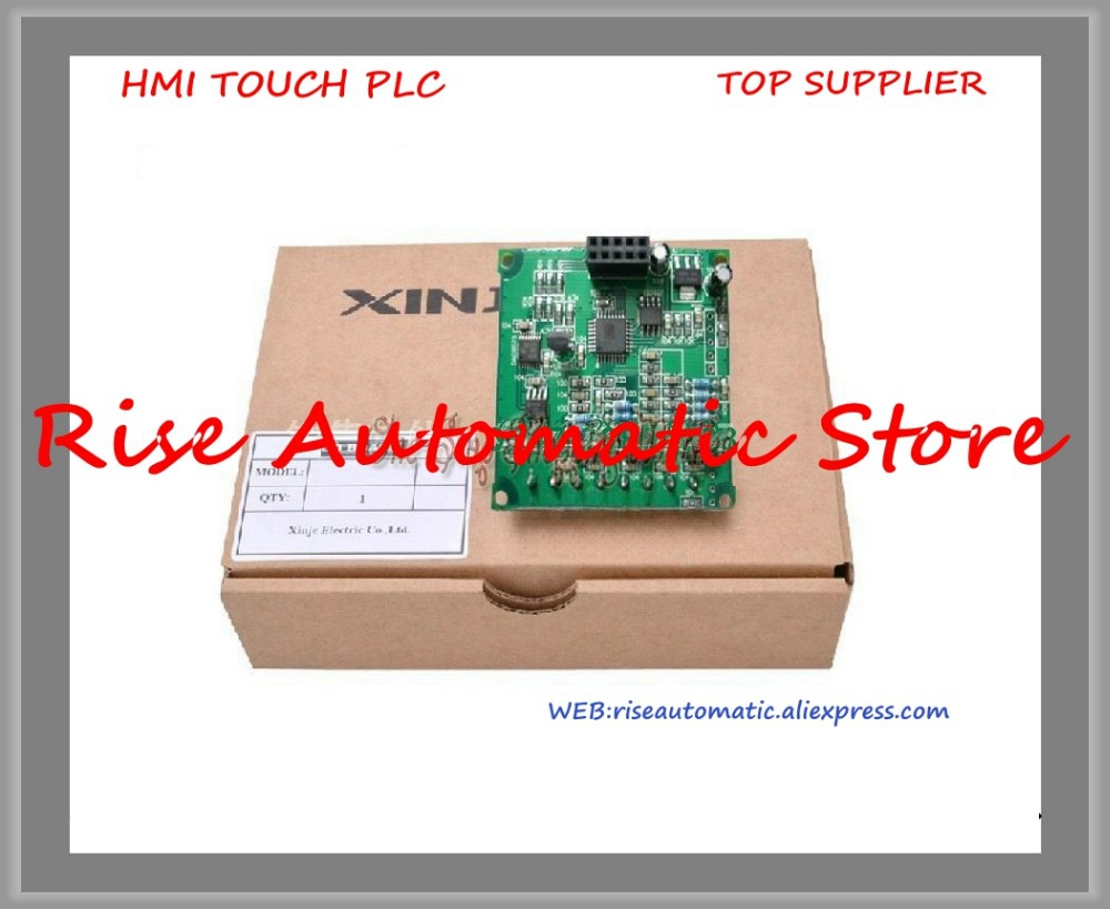 все цены на New Original Programmable Controller Module input 4 channels 0-10V/0~5V AI 14 Bit XP-4AD-BD онлайн