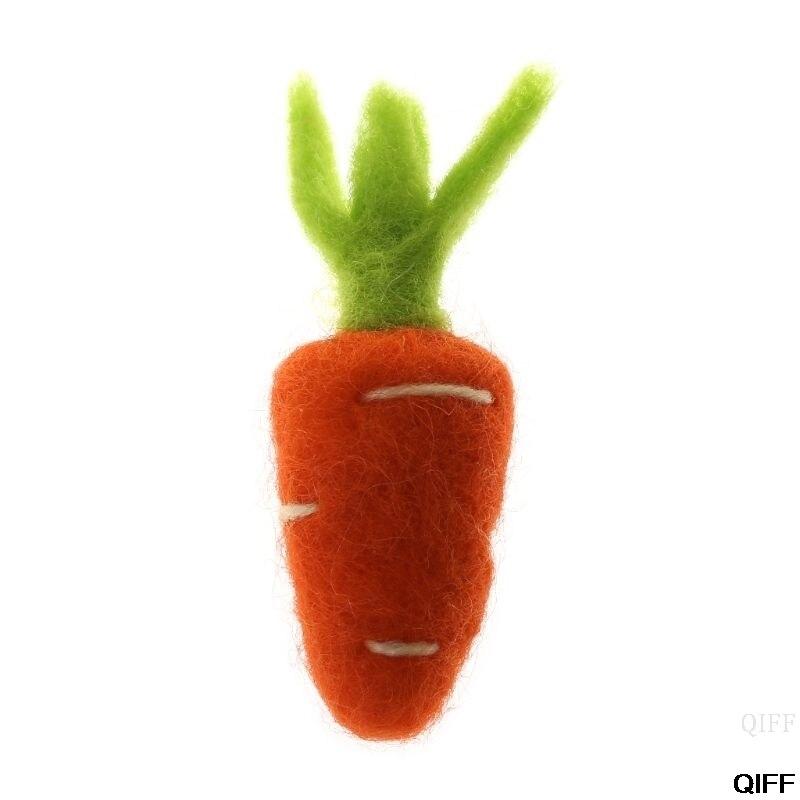 Fotografie Requisiten Fühlte Karotte Gemüse Diy Handgemachte Handwerk Dekoration Weihnachten Baby Foto Hintergrund Zubehör Kleidung