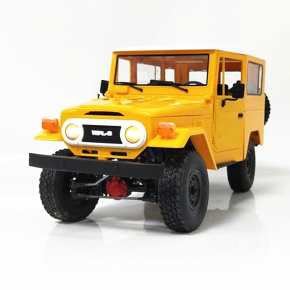 WPL C34K 1 16 Kit 2 4G 4WD Durable Four Wheel Drive Military Climbing Boys Transmitter