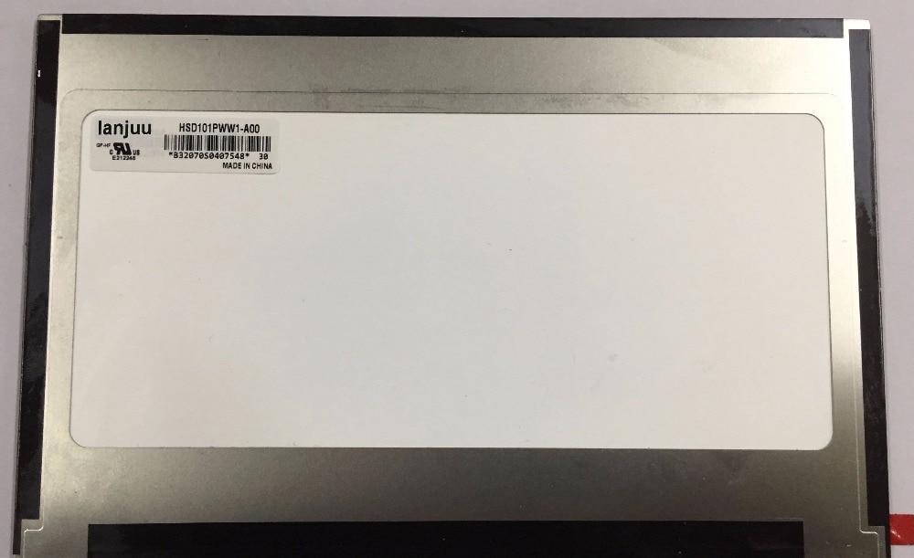 10.4-inch LCD screen, HSD101PWW1-A00 laptop LCD screen hsd100ixn1 a00 lcd displays