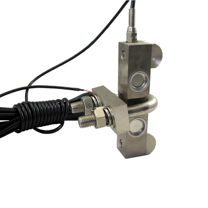 9000Kg Load Cell Sensor Single Rope Overload Alarm for Ranes Elevator Lift new arrival dc24v 4 relay load limiter controller sensor for elevator lift