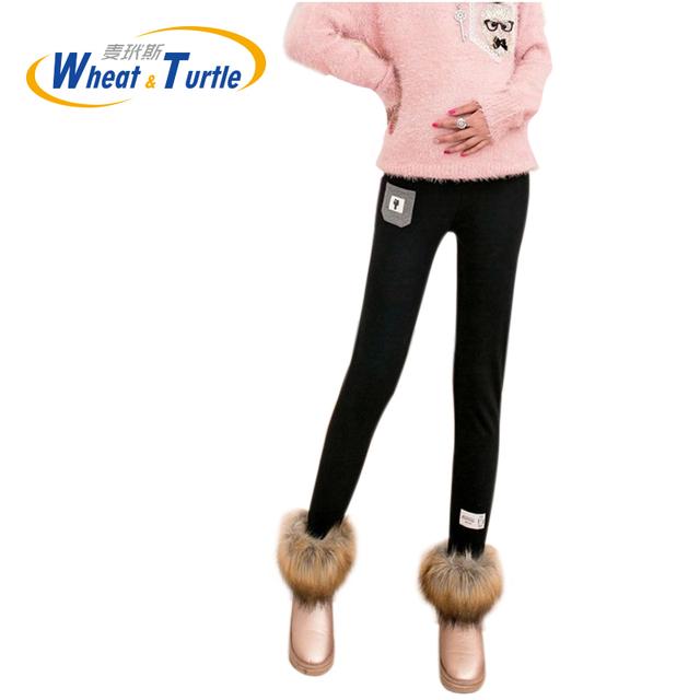 2016 Inverno Maternidade Leggings Grávidas Prop Calças Barriga Casuais das Mulheres Estiramento Leggings Skinny Calças Lápis