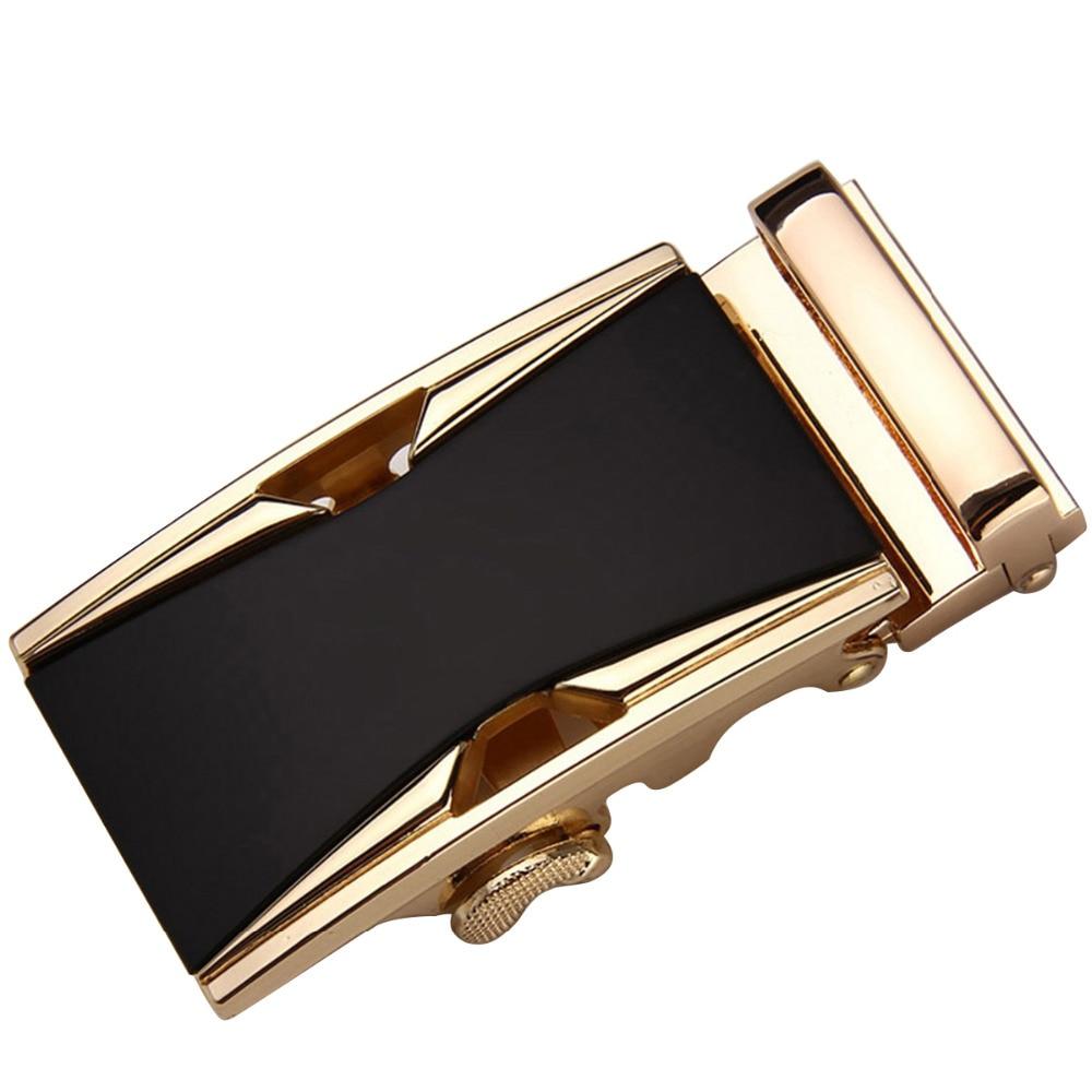 Fashion Men's Business Alloy Automatic Buckle Unique Mens Plaque Belt Buckles For 3.5cm Ratchet Belt (618)