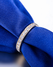 2015 New Arrival ZOCAI 0.48 CTTW channel setting real diamond wedding ring 18K yellow gold diamond ring jewelry JBW00108