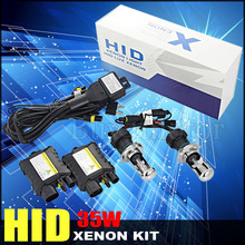 Best price hid kit h4 bixenon Hi Lo beam light 12v 35w car headlamp slim Ballast bi xenon Bulb 4300K 6000K 8000K 10000K 12000K