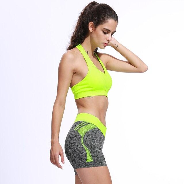 3 цветов профессиональные летние женские спортивные шорты yoga леггинсы yoga шорты тренажерный зал запуск эластичный пояс короткие женщины quick dry