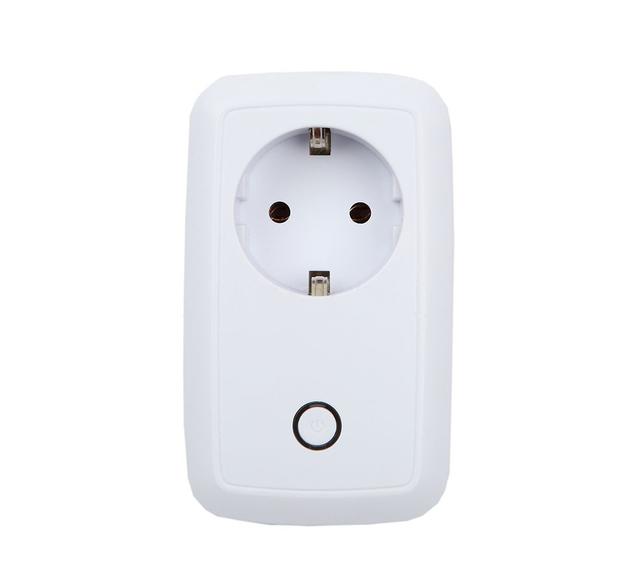 2016 10A UE AC110-240V Padrão DOS EUA Branco Wi-fi Tomada Inteligente Soquete de energia Tomada De Parede Para IOS App Controle Remoto Sem Fio Andriod