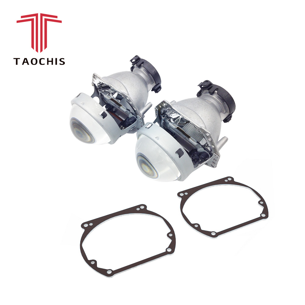 TAOCHIS Car Styling frame adapter Hella 3r G5 Projector lens retrofit for ALFA ROMEO 166 2003 - 2007 alfa romeo 166