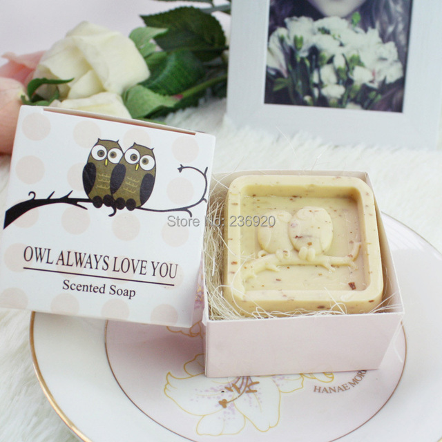8pcslot Mini Craft Cute Owl Soap Love Small Gift Between Friends