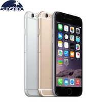 Téléphones portables d'origine Apple iPhone 6 LTE 4G débloqués 1GB de RAM 16/64/128GB iOS 4.7 '8.0MP double cœur WIFI GPS téléphone portable