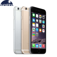 Unlocked Original Apple iPhone 6 LTE 4G Cell phones 1GB RAM 16/64/128GB iOS 4.7' 8.0MP Dual Core WIFI GPS Mobile phone