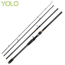 Yolo Fishing Tackle Super-hard Tune High-carbon Spinning Long Shot Multi-Joint Lure Rod Sea Fishing Rod Fish Pole 2.4m to 3.0m