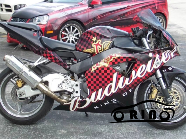 10 20 30 40 50x152cm Checkered Flag Sticker Racing Motorcycle