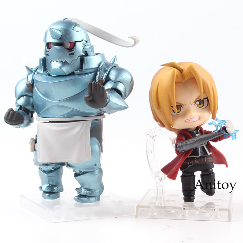 Nendoroid Fullmetal Alchemist 796 Alphonse Elric / 788 Edward Elric PVC Good Smile Action Figure Collectible Model Toy