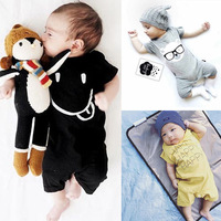 summer new fashion cotton baby rompers newborn girls and boys short sleeve infant jumpsuits child girls kid boys overall clothes