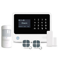 smart systems,wireless/wired wifi/gsm alarm system work with IP camera app control