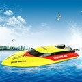 Exclusivo Reciente Mayor 7011 RC Barco de Control Remoto de 25-30 KM/H Sistema de Enfriamiento de Agua Lancha rápida vs F16610 FT010 Mejor Navidad regalo