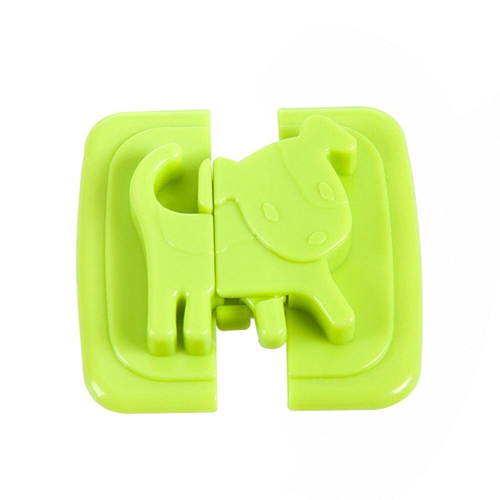 Замок холодильника Детская безопасность замок блокирующий замок для шкафа 4 цвета шкаф шкафы дома многофункциональный шкаф для младенцев - Цвет: green