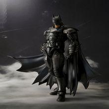 Boîte d'origine SHF INJUSTICE ver Batman PVC Action Figure Toy Batman mobile collection modèle enfants jouets cadeaux