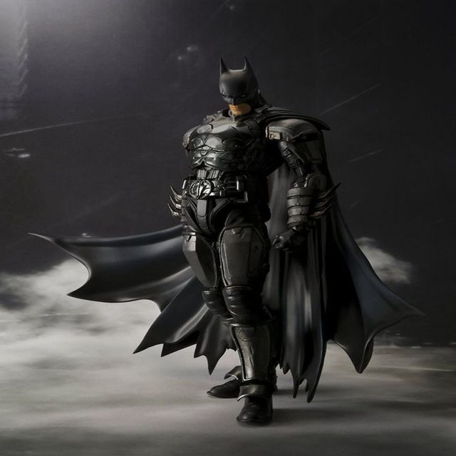 Original box SHF INJUSTICE ver Batman PVC Action Figure Toy Batman movable Collectible Model kids toys  gifts