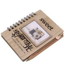 1 pcs Hard-sided Notebook Vintage Photo album diary 38 Sheet