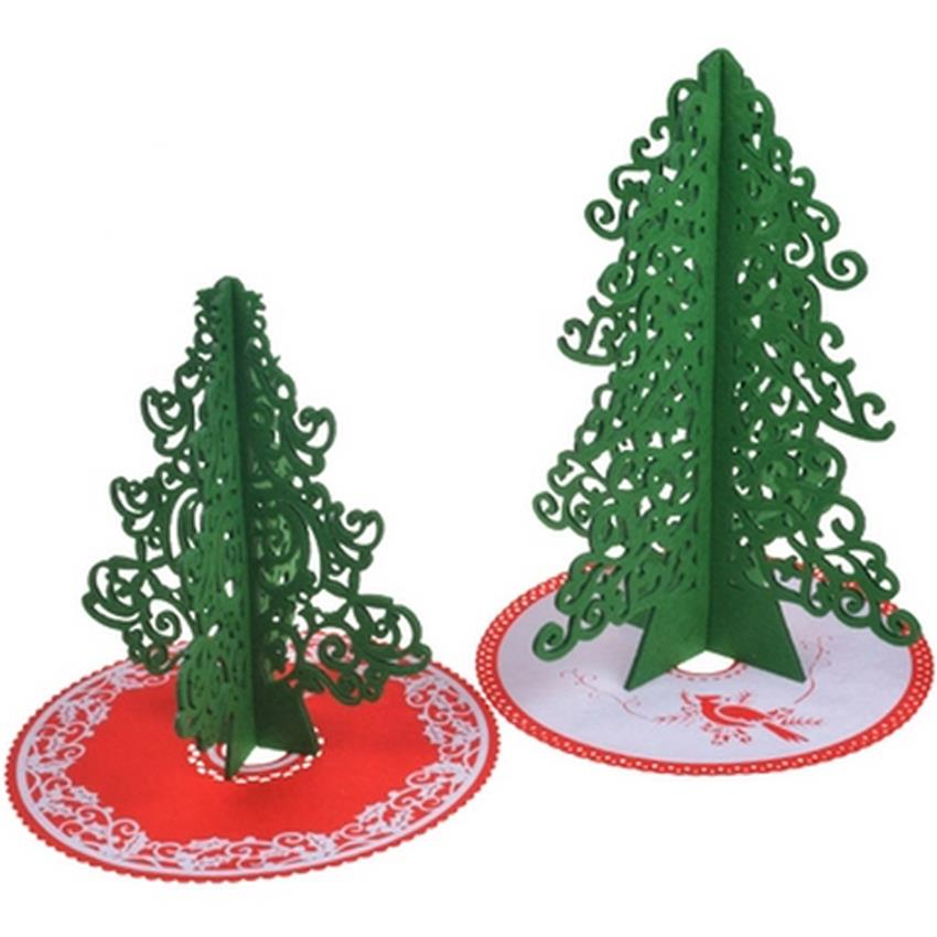artificial christmas trees with tree skirt cartoon wool hair felt xmas trees cm