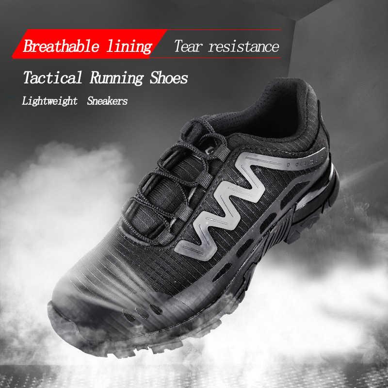 2019 Мужская обувь летние кроссовки дышащая повседневная обувь пара влюбленных модная мужская обувь на плоской подошве со шнуровкой военные тактические сапоги