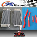 radiator and Red hose FOR Yamaha YZF450 YZ 450 F WR450 WR 450 F 07 08 2007 2008 09