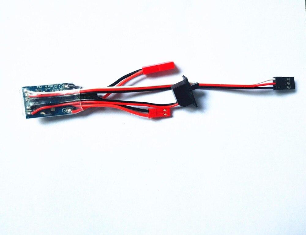 Щетка с щеточкой ESC для дистанционного управления автомобилем, 30 А