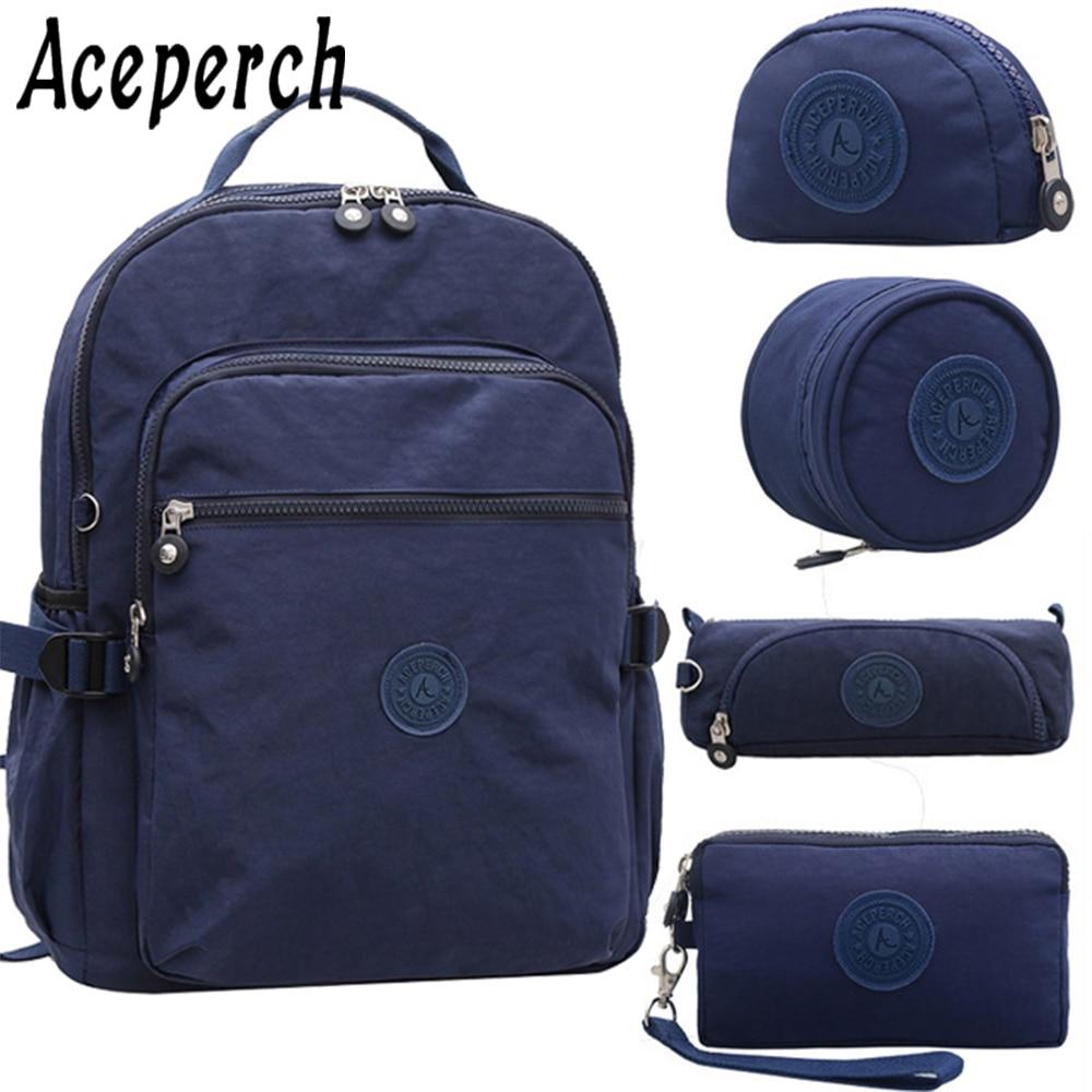 School, Waterproof, Bag, Backpack, Feminina, Bagpack